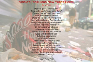 your inner cynic here s the new year s poem i wrote last year