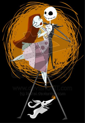 before christmas quotes jack and sally nightmare before christmas the ...