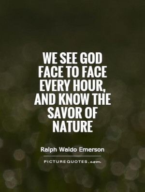 Nature Quotes Ralph Waldo Emerson Quotes