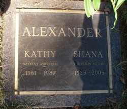 Shana Alexander (1925 - 2005) - Find A Grave Memorial