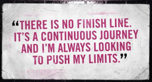 Every day and in every way keep pushing your limits.