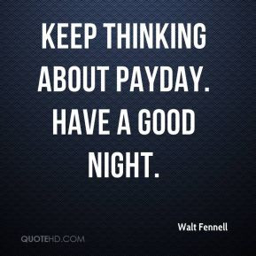 Payday Quotes