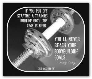 Inspirational Weight Lifting Quote #016