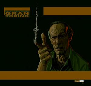Gran Torino - Clint Eastwood 2 by juarezricci