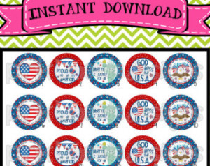 USA - cute 4th of July sayings - INSTANT DOWNLOAD 1