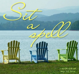 Sit a spell
