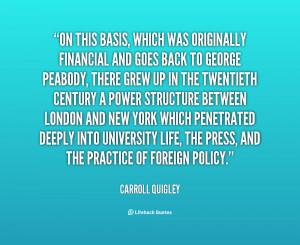 Carroll Quigley