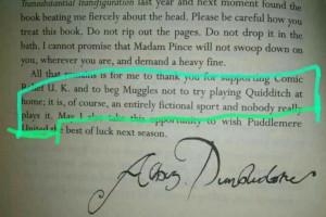 Quidditch through the ages quotes