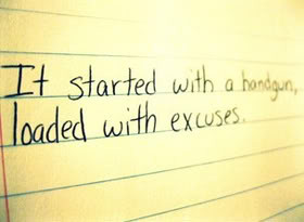 Excuses Quotes & Sayings