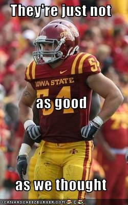 Funny - Iowa/Iowa State Review in Pictures