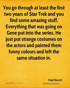 STAR TREK is a show that had a vision about a future that was positive ...