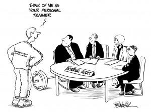it s risky we re managing it internal audit evaluation
