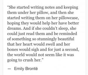 Emily Bronte #quotes