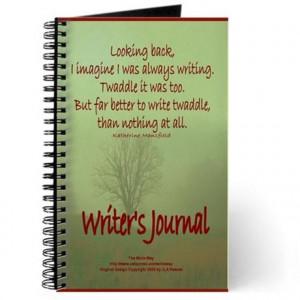 ... & Spiral Notebooks > Writer Journal, Katherine Mansfield Quote