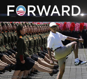 Obama Stepping On Constitution