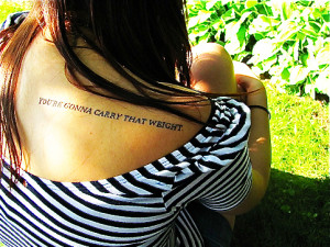Tattoo Tuesday- Cowboy Bebop
