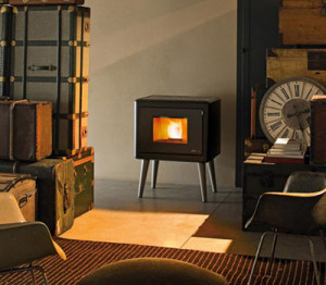 Beautiful Pellet Fireplaces