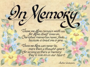Quotes For Deceased Loved Ones: Saying Goodbye Grief And Loss Quotes ...
