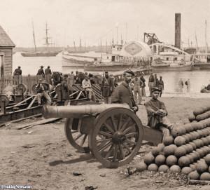 Cannon From Civil War Artillery