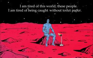watchmen mars parody toilet paper dr manhattan 1920x1200 wallpaper ...