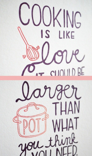 Chef julia child quotes sayings love cooking famous quote