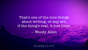 WOODY ALLEN ON WRITING: 5 Quotes from the Prolific Screenwriter