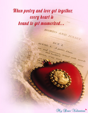 Love Quotes - When poetry and love get together