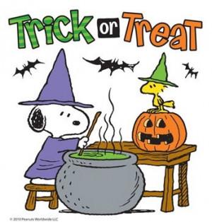 cartoon halloween happy halloween with snoopy stage for halloween ...