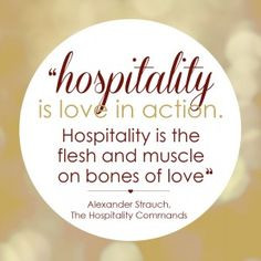 ... hospitality industry and going to a hospitality school... this quote