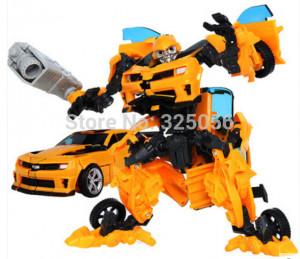 2015 New Big Size 27cm Bumblebee Transformation Model V Cool Change ...