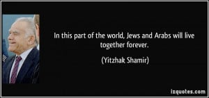More Yitzhak Shamir Quotes