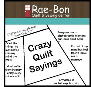 Quilt Sayings And Quotes Quilting Bellaonline