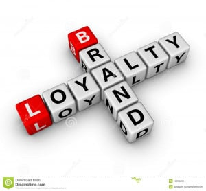 Royalty Free Stock Images: Brand and loyalty
