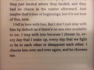 Allegiant by Veronica Roth - best line describing a relationship