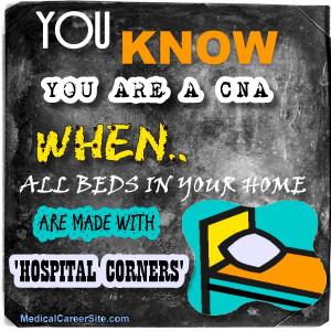 CNA Jokes: 'Hospital Corners'