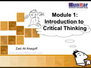 Critical Thinking Nursing Quiz