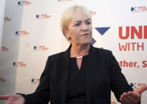 Johann Lamont wants to take party politics out of the NHS Picture