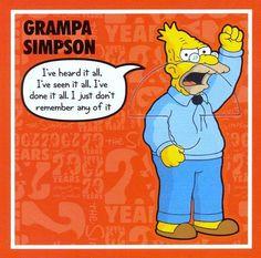 grampa simpson more man yelling grampa simpsons by hytam2