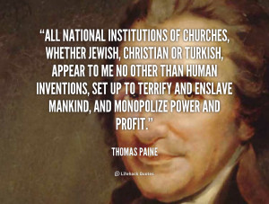 Thomas Paine Quotes Org/quote/thomas-paine/all