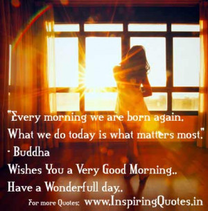 Wishing You a Good Morning Quotes – Good Morning Thoughts with ...