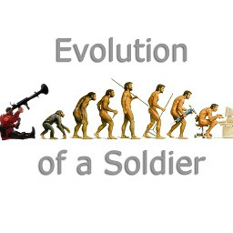 Evolution Of A Soldier Team Fortress 2 Spray