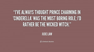 ve always thought Prince Charming in 'Cinderella' was the most ...