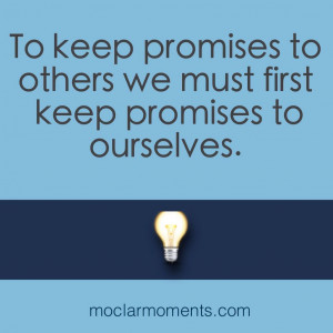 keeping promise quotes