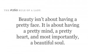 ... funny, heart, importantly, lady, mind, pretty, quote, soul, text, ule