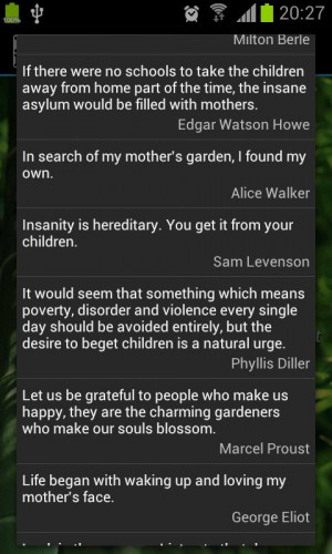 Mother Quotes - screenshot