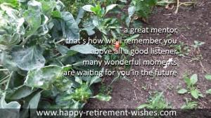 retirement messages for teacher