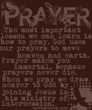 Christian Prayer Quotes – Pray Without Ceasing