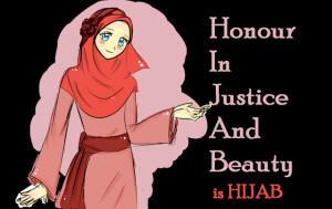 Wearing Hijab Makes Less...