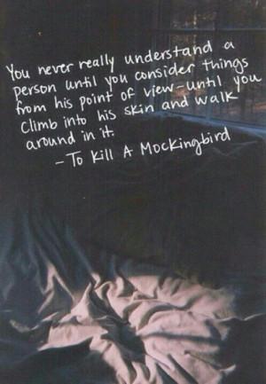 To kill a Mockingbird quote
