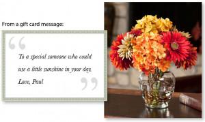 Why Do People Send Silk Flowers? Reason #8